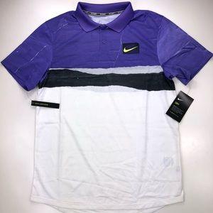 Nike Court Advantage NY Tennis Golf Polo Shirt